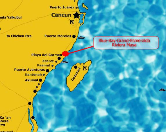 Bluebay gran esmeralda riviera maya quintana roo m xico for Blue bay grand esmeralda deluxe v jardin