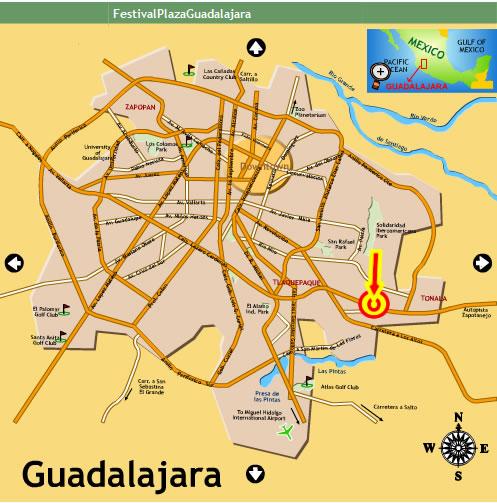 Festival Plaza Tlaquepaque Hf Tlaquepaque Jalisco Mexico
